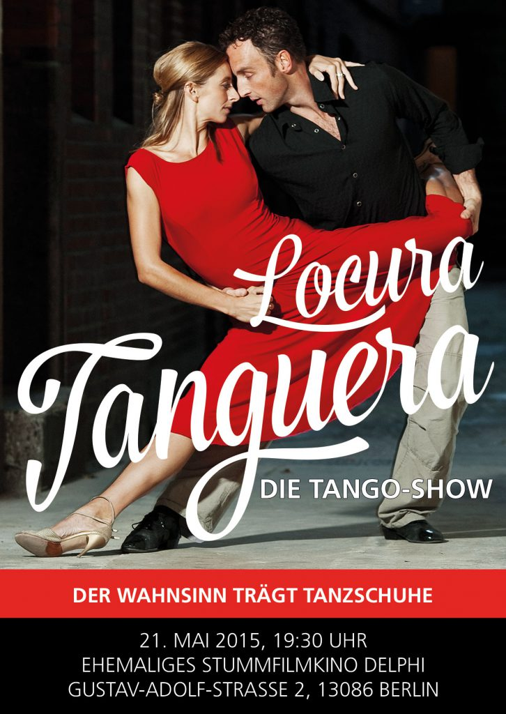Flyer LOCURA TANGUERA 21.05.2015 Vorderseite