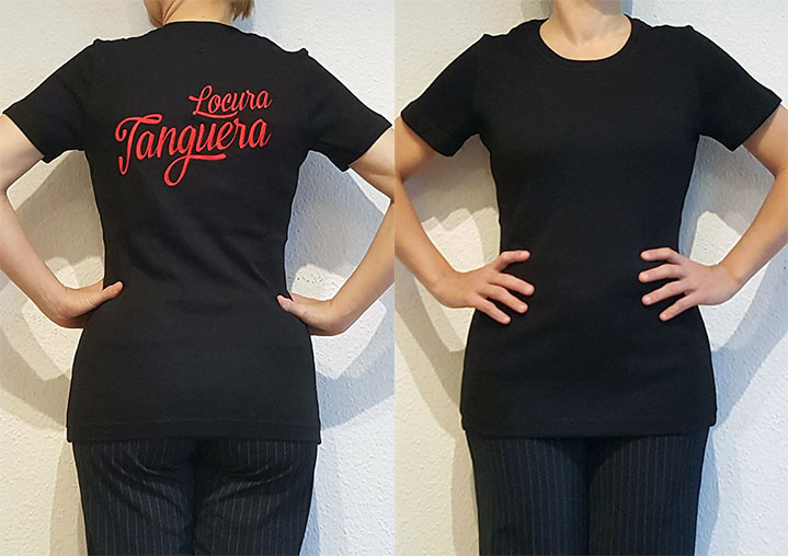 "Damen-T-Shirt ""Locura Tanguera"""