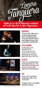 LOCURA TANGUERA - Die Tango Dinner Show